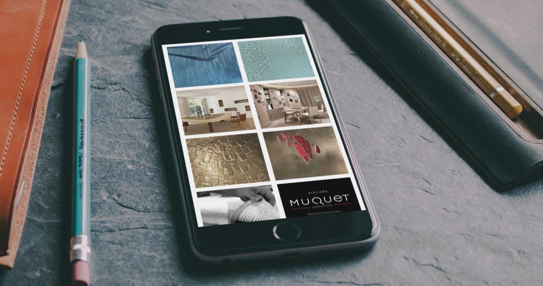 Ateliers Muquet galerie photos réseaux sociaux